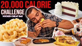 The 20,000 Calorie Challenge | Wicked Cheat Day #53