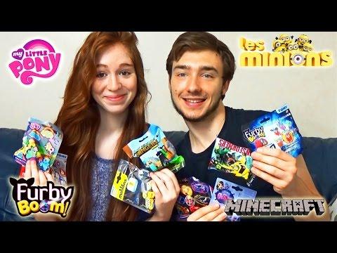 [Vidéo Surprise] Ouverture de Minions, Minecraft, Marvel, Furby, Cars, Petshop...
