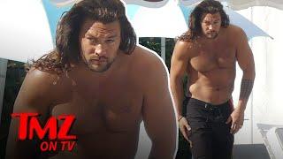 "Jason Mamoa's ""Dad Bod"" Puts All Others To Shame | TMZ TV"
