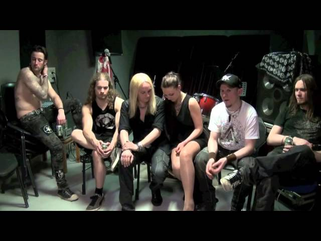 INTERVIEW WITH AMARANTHE @ LE FORUM VAUREAL BY ROCKNLIVE PROD
