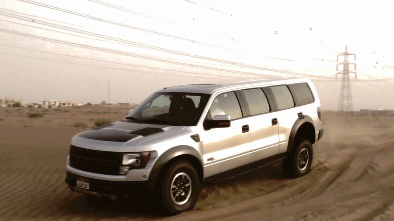 Ford Raptor Limousine Ford Raptor 6 Doors Only in
