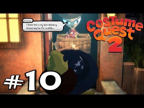 Costume Quest 2   E10   Sadie's Speakeasy Deliveries! (Gameplay / Playthrough / 1080p)
