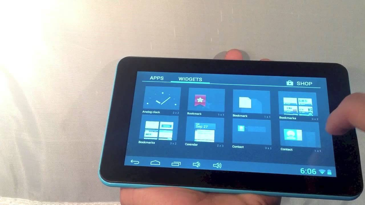 Maxwest Tablet 7250 Youtube