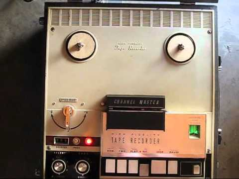 Channel Master High Fidelity Tape Recorder 6548 vintage sound equipment - For Sale on eBay