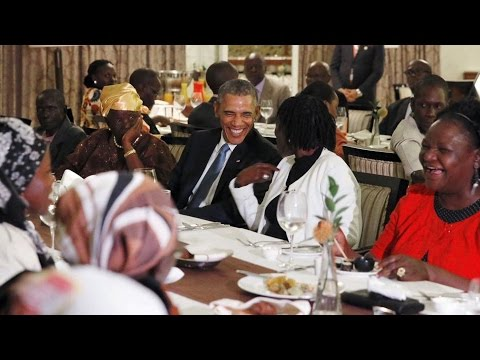 Obama Visits Ethiopia and Kenya, Land of His Father, to Discuss Counterterrorism, Gay Rights, Jobs