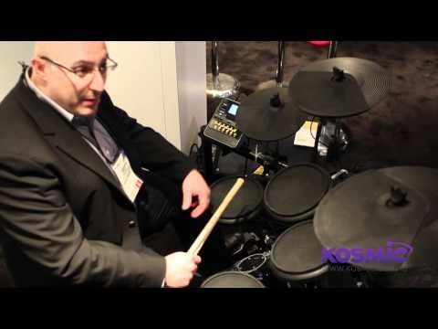 NAMM 2012 - Behringer Electronic Drum Kits