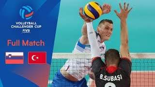 SLOVENIA vs TURKEY | Full Match | 2019 FIVB Men's Volleyball Challenger Cup