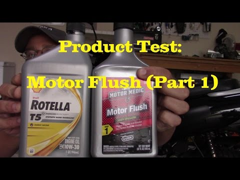 Product Review: GUNK Motor Flush Treatment