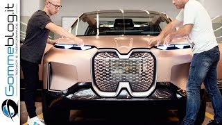 HOW IT'S MADE Car DESIGN - Making of The BMW Vision iNEXT