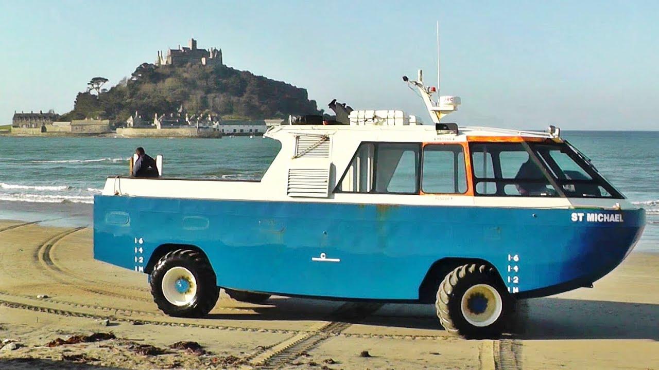 St Michael S Mount Cornwall Amphibious Vehicle Car Craft