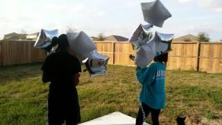 Mr Eugene Richardson's Balloon Release