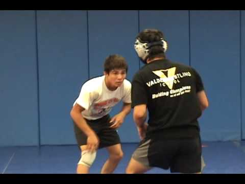Olympic silver medalist Tomohiro Matsunaga of Japan in training with Freestyle Team USA Image 1