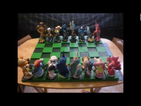 The Chess Set is Complete!