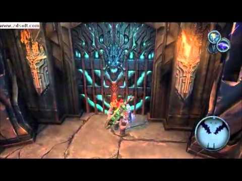 Darksiders, atascado en el trono negro por un bug (Leer descripción)