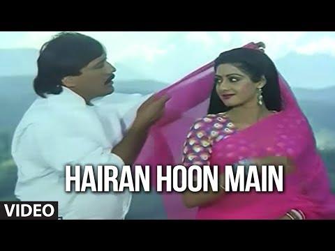 Hairan Hoon Main [Full Song] | Jawab Hum Denge | Jakie Shroff, Sridevi