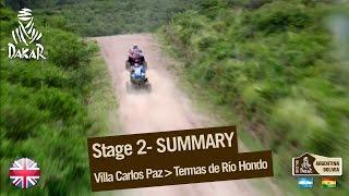 Stage 2 Summary - Truck/Quad - (Villa Carlos Paz / Termas de Rio Hondo)