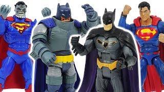 DC Good hero VS Bad hero! Defeat the bad Armored Batman, Superman Doomed! #DuDuPopTOY