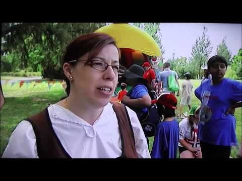 ABC News Coverage of IMLM Language Walk 2015 in Canberra