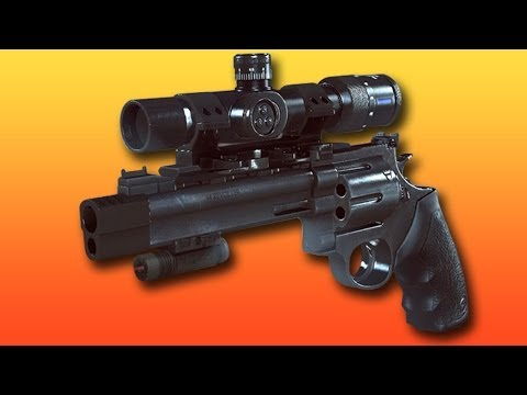 .44 Magnum 3x Sniper Scope On Hardcore - Amazing Killstreak! (battlefield 4 Gameplay commentary) video