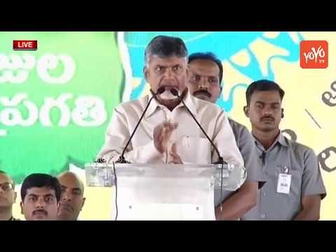 Chandrababu Naidu Speech | AP CM Public Meeting at Kollur village in Guntur | YOYO TV News