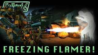 Fallout 4 | Legendary Freezing Flamer! | Strange Combination! (Legendary Weapon!)