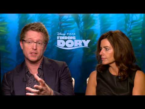 Finding Dory: Director Andrew Stanton & Producer Lindsey Collins Official Movie Interview