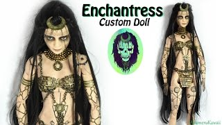 Enchantress inspired Doll / Barbie Repaint ( Suicide Squad )