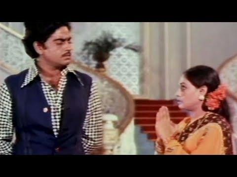 Shatrughan Sinha Jaya Bachchan(Bhaduri) Gaai Aur Gori - Scene...
