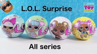 LOL Surprise Doll Series 1 2 3 Glitter Toy Opening Review | PSToyReviews