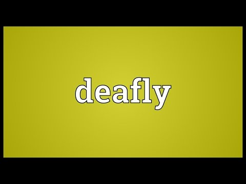Header of deafly