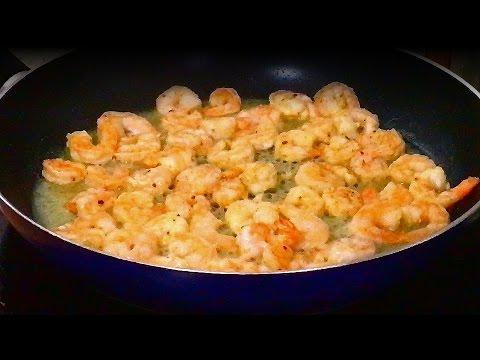 Креветки под сыром