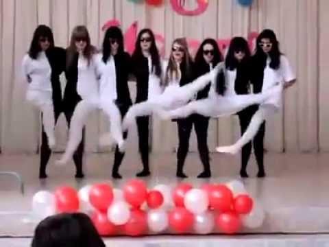 Baile Blanco Y Negro Youtube