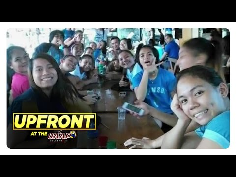 UAAP Upfront: Lady Falcons outside the volleyball court