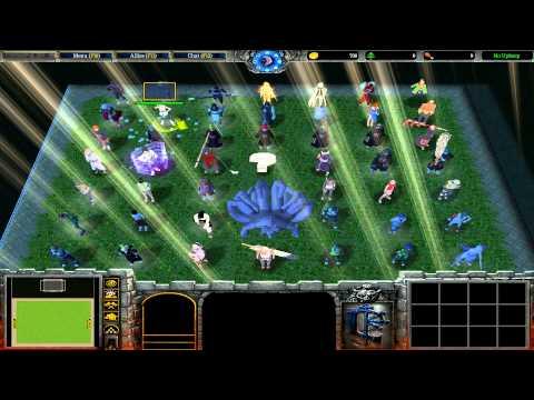 Warcraft III: TFT - Naruto Battle Royal - 39 - Turnajek S01E02 - Ozraly White