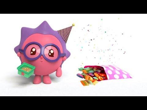 Малышарики - Обучающий мультик для малышей - Все серии про Ежика ⚽👓-  сборник