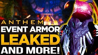 Anthem Season of Skulls Armor Sets Leaked | New Emotes & Other Cosmetics