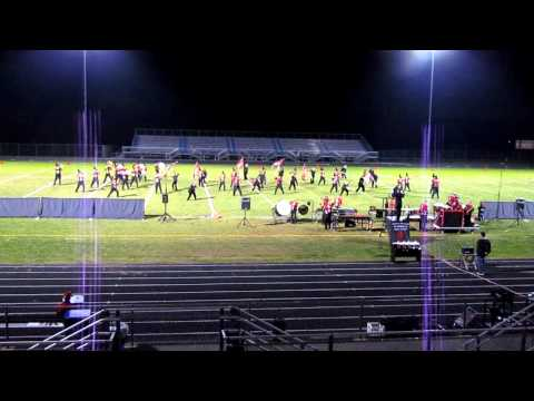 "Chopticon High School Marching Band's ""The Heart of Madness"" at Reservoir High School, Nov 2, 2011"