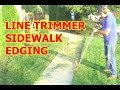 Lagu LAWN EDGING WITH A LINE TRIMMER