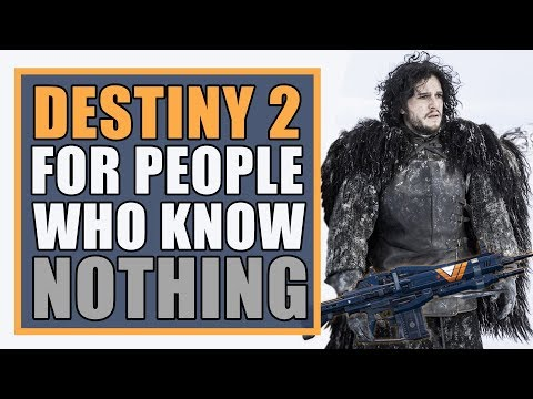 Destiny 2 PC for People Who Know NOTHING!   Quick Start Beginner's Guide