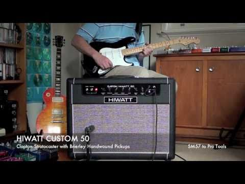 HIWATT CUSTOM 50 SA212 Combo - General demo (Strat) with and without effects