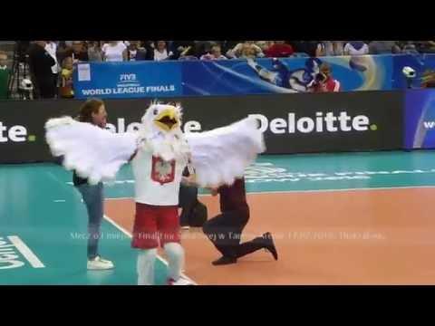 Oświadczyny Oświadczył Się Na Meczu Siatkówki Liga Światowa 2016 Proposal Marriage Match