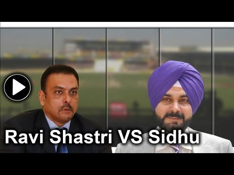 Ravi Shastri vs Navjot Singh Sidhu: A tale of cricket commentary
