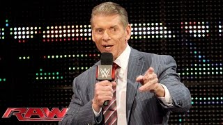 Mr. McMahon has big plans for the first Raw of 2016: Raw, December 28, 2015