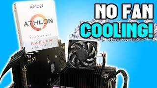 Cooling the Athlon 200GE with NO FANS!
