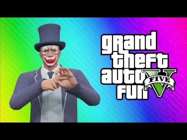 GTA 5 Online Funny Moments - Business DLC, Minecraft Skit, RPG, Body Glitch, Vestra Plane!