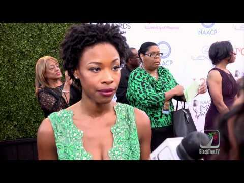 Bolden! Star Karimah Westbrook at NAACP Image Awards