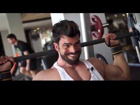 Sergi Constance Shoulder workout - PROJECT افضل تمرينة كتف للمبتدئين والمحترفين