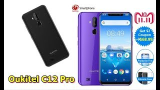 REVIEWS OF Oukitel C12 Pro Face ID 6 18Inch RAM 16GB ROM MT6739 |oukitel c12 pro 4g smartphone