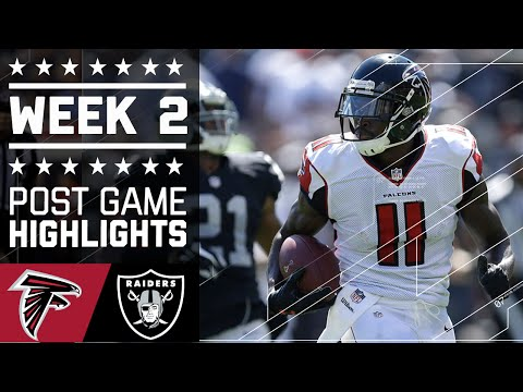 Falcons Vs Raiders Nfl Week 2 Game Highlights