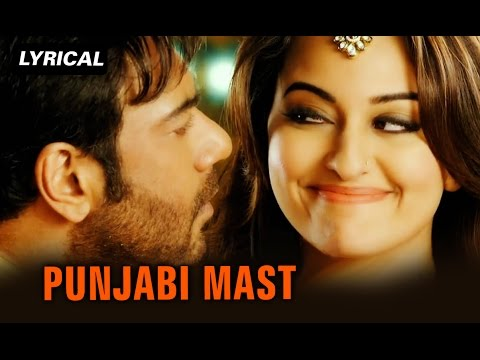 Punjabi Mast (Lyrical Full Song) | Action Jackson | Ajay Devgn & Sonakshi Sinha